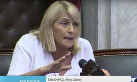 Alma Sapag responde por la polémica convocatoria de Sesión