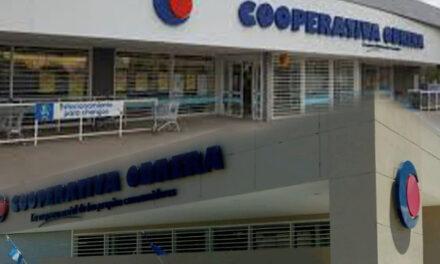 Sucursales de la Cooperativa cierran estacionamientos a partir de las 18hs