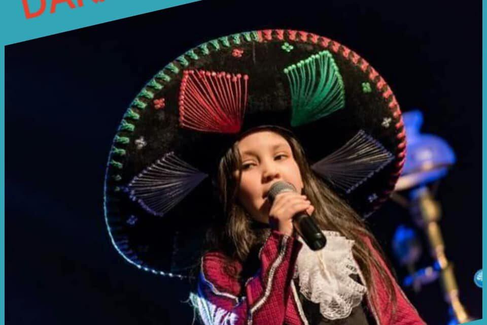 NOMINACIÓN : DARA VILLAR «LA CHAPARRITA» : CANTANTE DE RANCHERA INFANTIL REVELACIÓN IMPACTO EN ARGENTINA