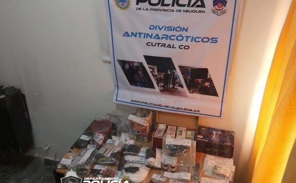 Desbaratan Kiosco Narco en Cutral Co