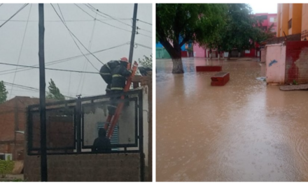 Plaza Huincul y Cutral Co bajo agua