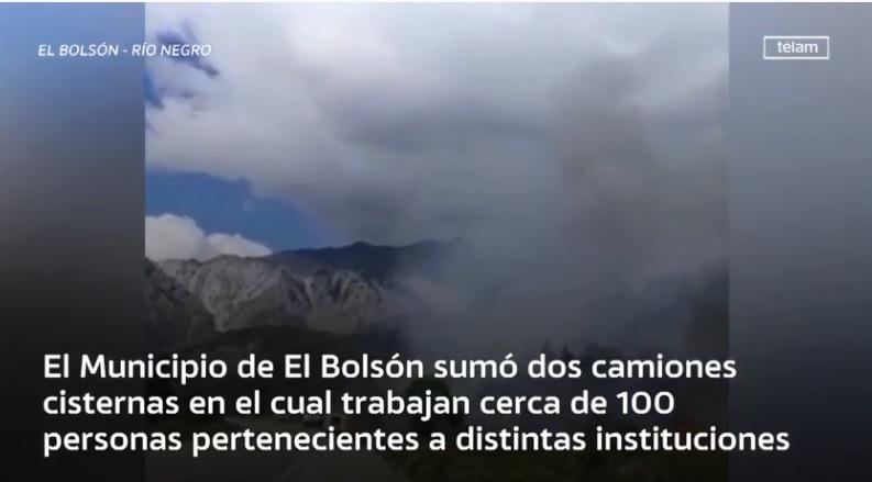 El incendio en El Bolsón causó «grave» daño ambiental y llegó a Chubut