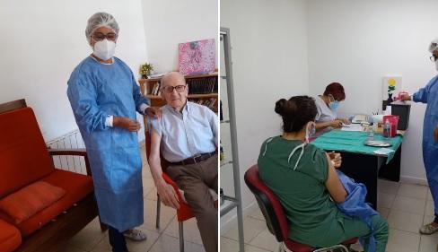 Mabel Sepulveda «llegaron 700 vacunas para la zona sanitaria»