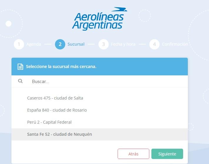 Reabre Sucursal Neuquén de Aerolíneas Argentinas