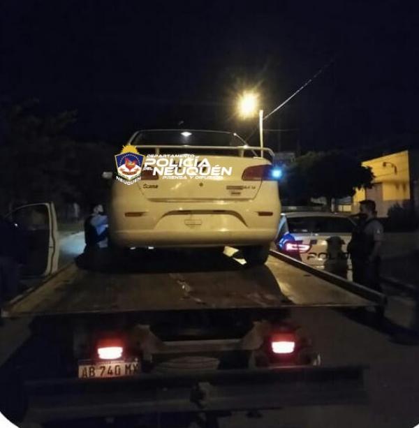 Cutral Co: demora y secuestro de vehiculo positivo de alcoholemia