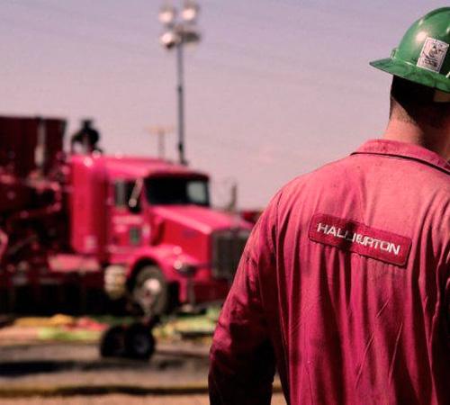 Reincorporaron a los 8 empleados de Halliburton