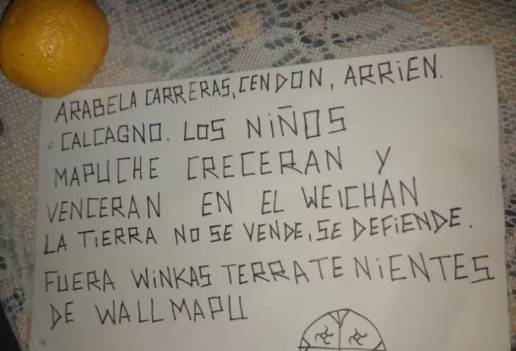 Arabela Carreras:»Me amenazaron de muerte»